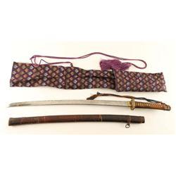 Imperial Japanese Army Shin'gunto Sword