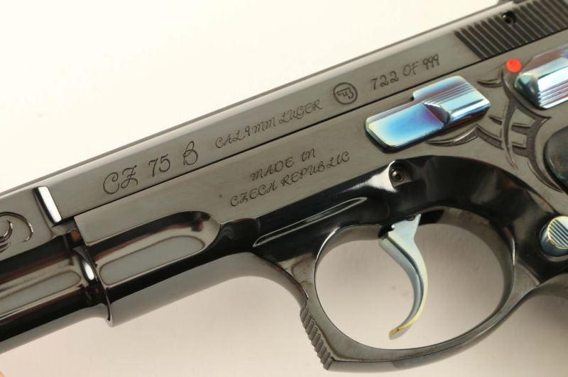 CZ 75 B 40th Anniversary 9mm SN: 40TH722