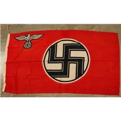 Marked Nazi State Service Flag