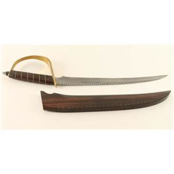 Rare Damascus Roman Short Sword