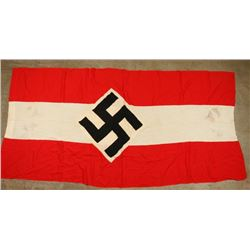 Large Double Sided Hitler Youth Flag