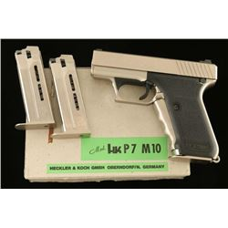 Heckler & Koch HK P7 M10 40 S&W SN 021-1206