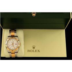 Men's Rolex Date Adjust Wristwatch