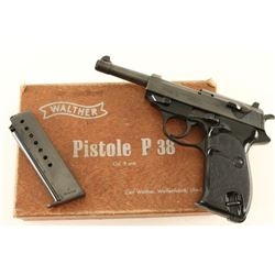 Walther P38 9mm SN: 021940E