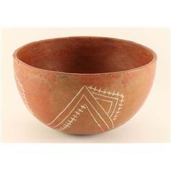 Prehistoric Anasazi Redware Bowl