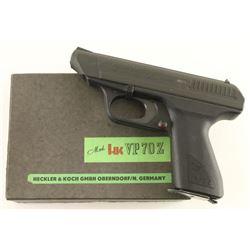 Heckler & Koch HK VP 70 Z 9mm SN: 88374