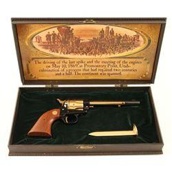 Colt Golden Spike Commemorative .22 LR