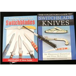 Switchblade Comb and Book Lot