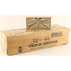 Case of 38-40 Ammo