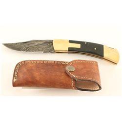 Kevin Johnson Mint Lock-Back Folding Knife