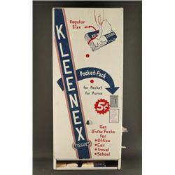 Vintage Coin Operated Vend-Rite Kleenex Machine