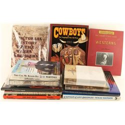 Lot of Cowboy Related Books
