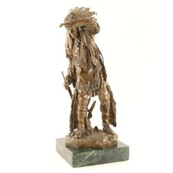 Bronze by noted artist Carl Kauba