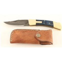 Kevin Johnson Mint Lock-Back Folding Knife