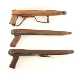 Collection of 3 M1 Carbine Folding Stocks