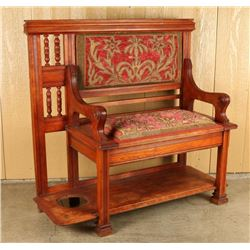 Victorian Hall Bench