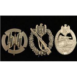 German World War II Badge Lot