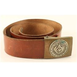 3rd Reich SA Belt and Buckle
