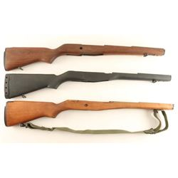 Collection of 3 M1A Stocks
