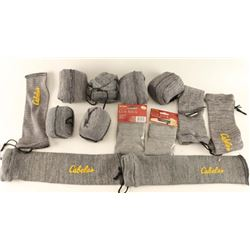 Lot of Cabela's Gun Socks