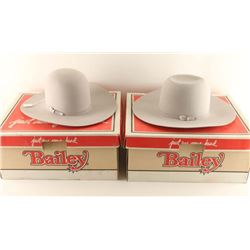 Lot of 2 Bailey Hats
