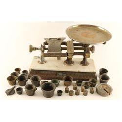 Antique Micrometer Scale