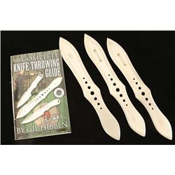 Lot of 3 Gil Hill Throwing Knives