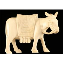 Pre Ban Ivory Mule