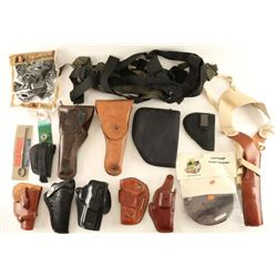 Holster & Accessories Lot