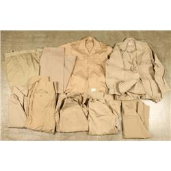 Lot of US Army Kaki Uniforms