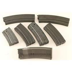 Lot of 7 Ruger Mini 14 Mags