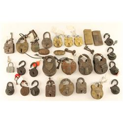 Vintage Lock Collection