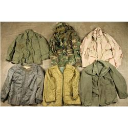 Lot of US Army Field Jackets