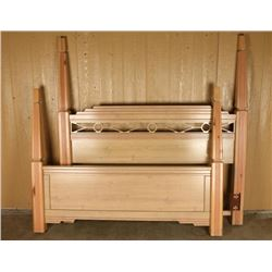 Queen Size Southwest Four Poster Bed