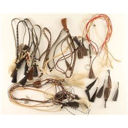 Large Lot of Horsehair Hatbands