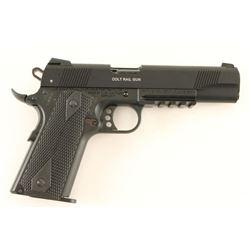 Colt Rail Gun .22 LR SN: WD007390