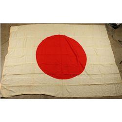 Large Vintage Japanese Flag