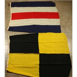 Charlie & Lima Signal Flags