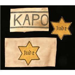 (2) Jewish War Arm Bands