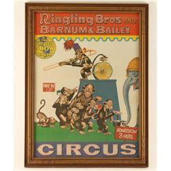 Vintage Circus Advertiser
