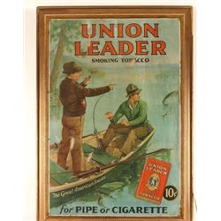 Union Leader Tobacco Advertiser