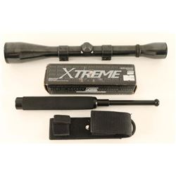 Weaver Scope & Xtreme Baton
