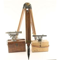 Vintage Surveying Equipment