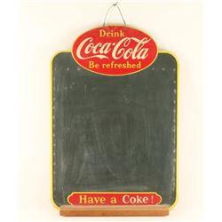 Vintage Coca Cola Chalkboard
