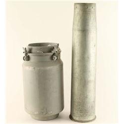 Large Metal Cartridge Case