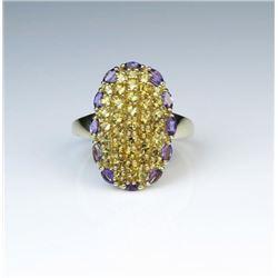 Amazing Color Burst Ring