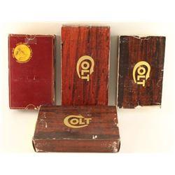 Lot of 4 Colt Boxes