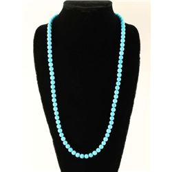 Native American Turquoise Bead Necklace