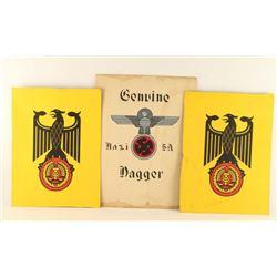 3 Nazi Posters