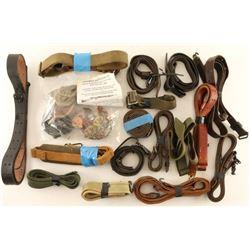 Lot of Leather & Webbing Slings